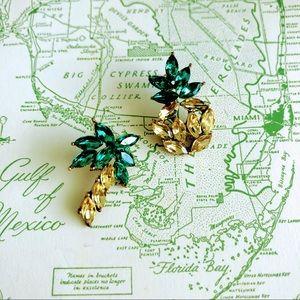 Pineapple Gem Earrings